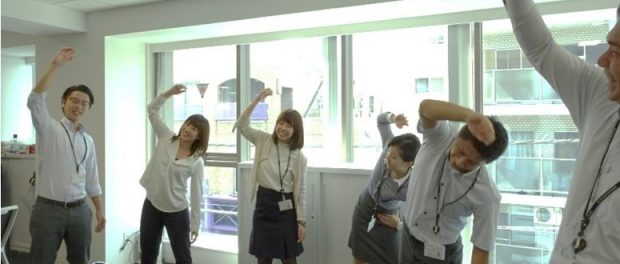 トーシンパートナーズ_朝の体操